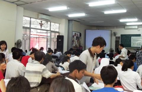 Hình các lớp nhạc Hè tại Đakao  trước ngày 5-7-2014