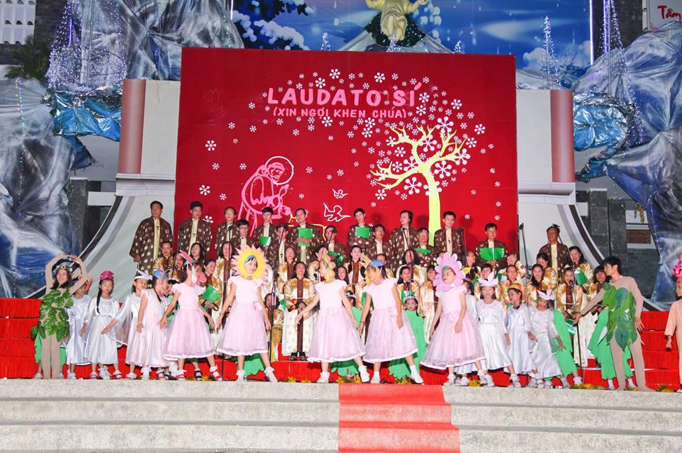 CĐ QUÊ HƯƠNG 19-12-2015 tham gia Diễn Nguyện mừng Chúa Giáng Sinh tại Giáo xứ Ngọc Lâm - 5
