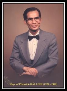 Kỷ Niệm 30 năm ngày qua đời của cố Nhạc sư HẢI LINH 6/1/1988-2018 - 1