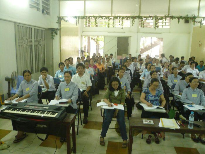 Hình Ảnh Lớp Nhạc Hè 2010 - Lớp Thanh Nhạc 1 - 2