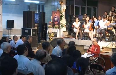 GSTS Trần Văn Khê Phát biểu tại ĐÊM NHẠC HẢI LINH giỗ 25 năm