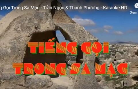 Karaoke Tiếng Gọi Trong Sa Mạc (MV)