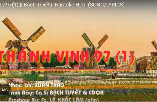 Karaoke Thánh Vịnh 97(i) (TVĐC lễ ngày Giáng Sinh; Chung Mùa GS)