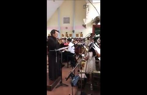 Bạn Ở Đâu - Ca đoàn Quê Hương hát Chúa Nhật Lễ Lá 25-03-2018