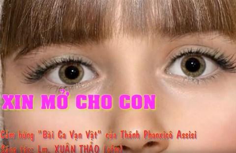 Karaoke XIN MỞ CHO CON  CHL