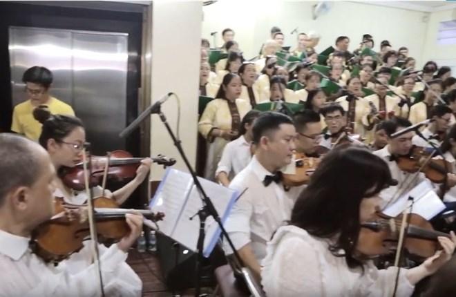 CANTATE DOMINO (Valentino Miserachs Grau - Cappella Victoria Jakarta)