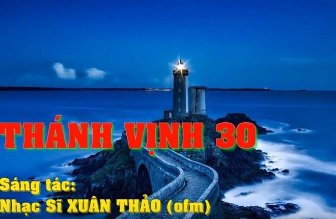 Karaoke Thánh Vịnh 30 (TV ĐC thứ 6 Tuần Thánh)